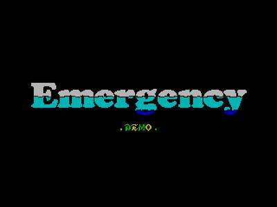 [screenshot of Emergency]