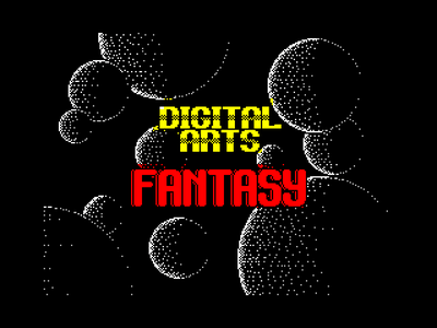 [screenshot of Digital Arts Fantasy]