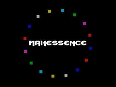 [screenshot of Makes Sence]