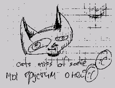 [Screenshot - cats loves scene]