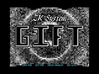 [Screenshot - ZK System Gift]