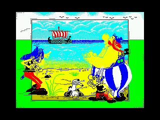 [screenshot of Asterix & the Vikings]
