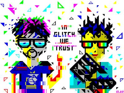 [screenshot of In Glitch We Trust]