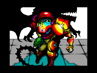 [screenshot of Samus]