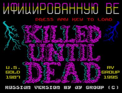 [Screenshot - Killed Until Dead]