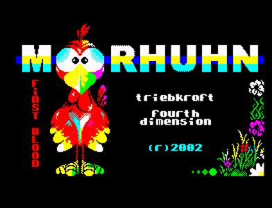 [Screenshot - Moorhuhn: First Blood]