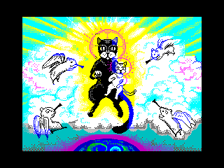 [screenshot of Holy Cat Mother]