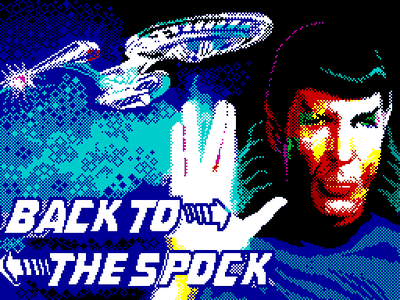 [screenshot of Back to Spock]